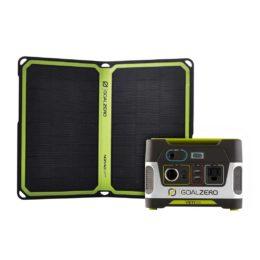 Yeti 150 & Nomad 14 Plus Solar Kit - ProductFeature
