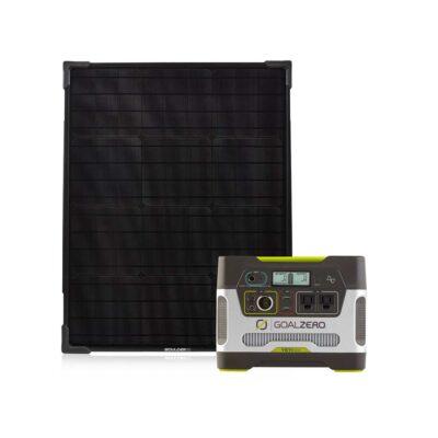 Yeti 400 & Boulder 50 Solar Kit - ProductFeature
