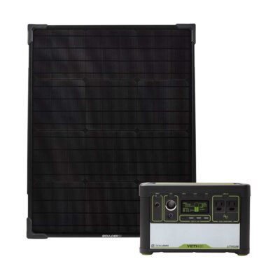Yeti 400 Lithium & Boulder 50 Solar Kit - ProductFeature