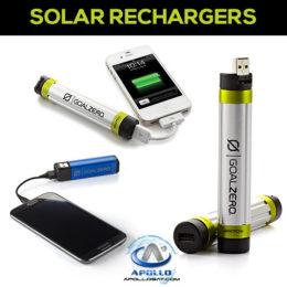 Solar Rechargers