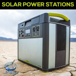 Portable Solar Power Stations