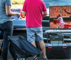 Solar Power for Tailgating
