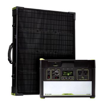 Yeti 1400 Lithium Solar Recharging Kit