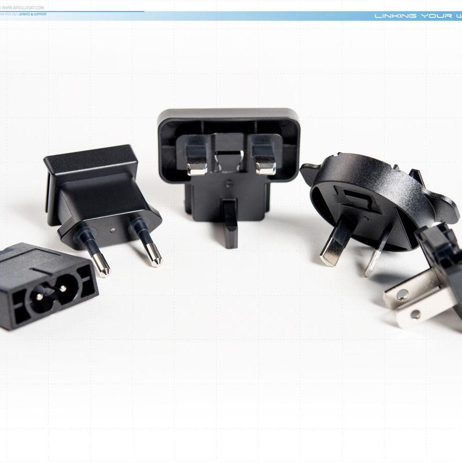 Iridium IPK1601 Plug Kit International Adapters 9575 9555 9505A