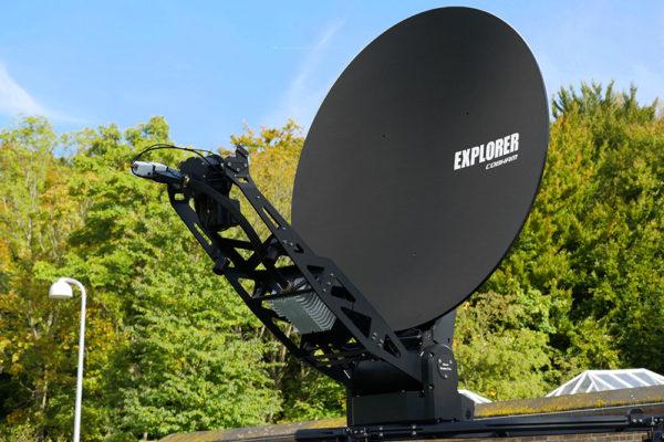 Cobham Explorer 8100 Fly Away VSAT Apollo Satellite