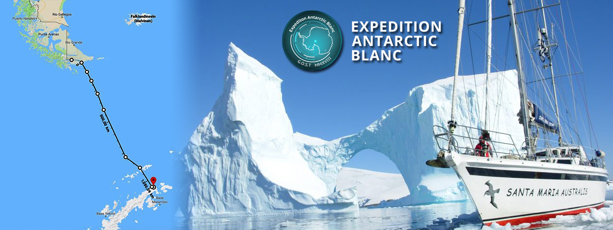 Expedition Antarctic Blanc