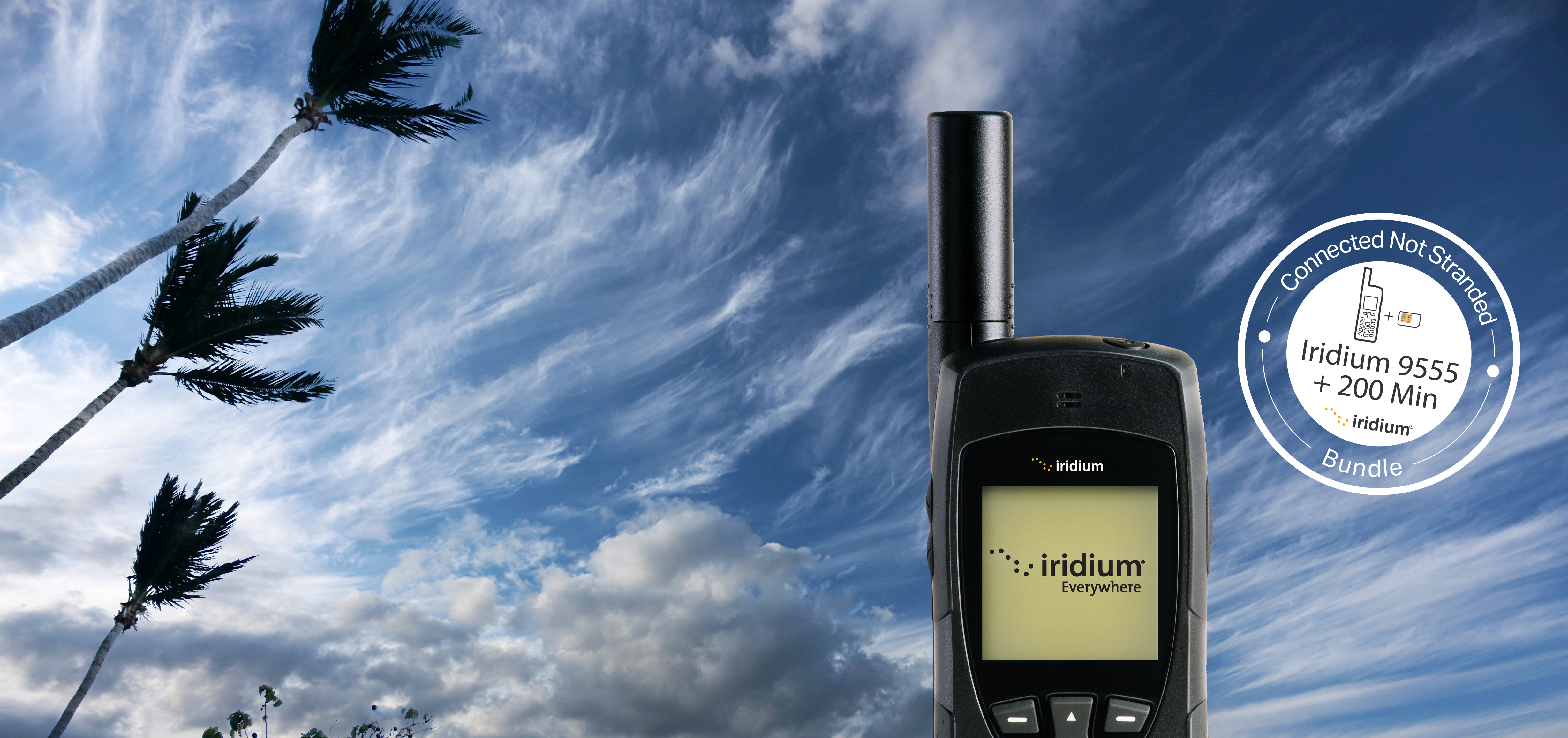 Iridium Connected Not Stranded Disaster Preparedness Campaign