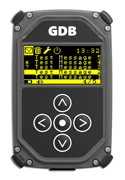 Iridium Satellite GDB Pager
