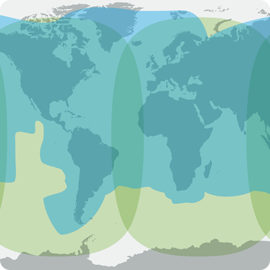 Aura VSAT- Inmarsat Fleet Broadband Coverage Map - Apollo Satellite