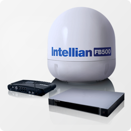 Aura VSAT Intellian FleetBroadband 500 - Apollo Satellite