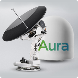 Aura VSAT Ku-Band Terminal - Apollo Satellite