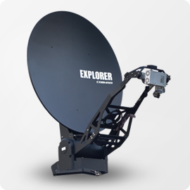 Aura VSAT Cobham Explorer 8100 - Apollo Satellite