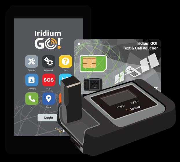 Iridium GO Text and Call Voucher