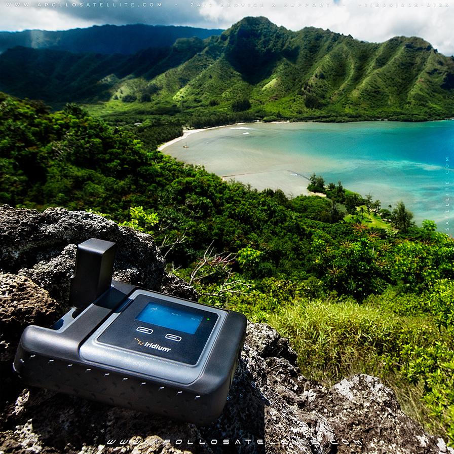 Iridium GO - Hawaii Mountains - Gallery01 - Apollo Satellite