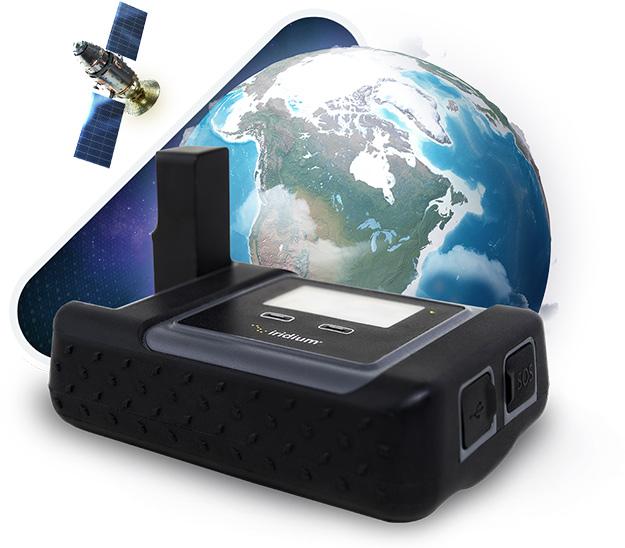 Iridium GO - Iridium Satellite Orbiting Planet Earth - Mobile Hotspot - Apollo Satellite