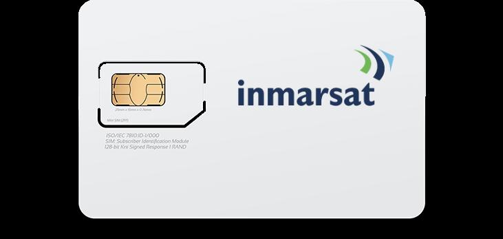 Inmarsat Prepaid Satellite Phone SIM Card