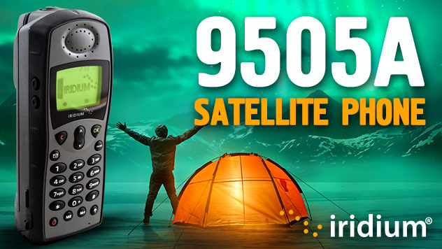 Iridium 9505A Satellite Phone Features - Apollo Satellite
