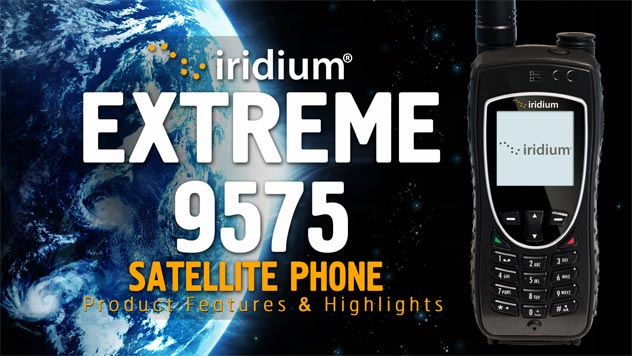 Iridium 9575 Extreme Satellite Phone Rental - Apollo Satellite
