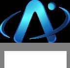 Apollo Satellite Logo White