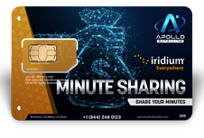 Iridium Monthly Plans Minute Sharing - Apollo Satellite
