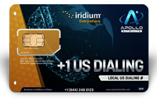 Iridium Monthly Plans US Dialing Number - Apollo Satellite