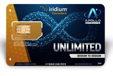 Iridium Monthly Plans Unlimited Iridium To Iridium Calling - Apollo Satellite