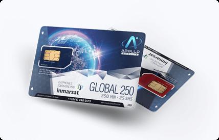 Inmarsat IsatPhone Monthly Satellite Phone SIM Card