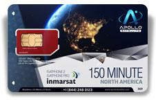 Inmarsat IsatPhone North America 150 SIM Card - Apollo Satellite