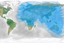 Thuraya Satellite Coverage Map - Apollo Satellite
