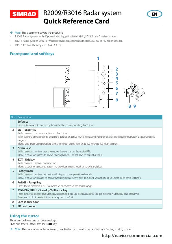 Simrad_R2009QuickReferenceCard.pdf