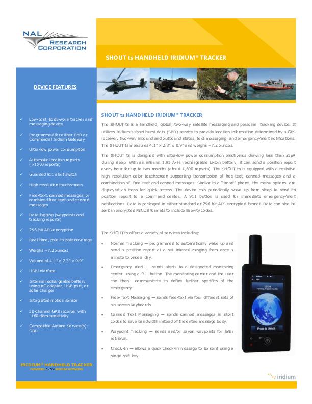 Product-Information-SHOUT-ts-2019.pdf