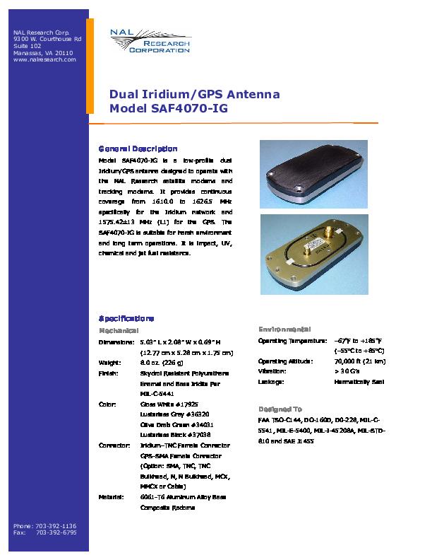 Product_Information_Model_SAF4070-IG.pdf