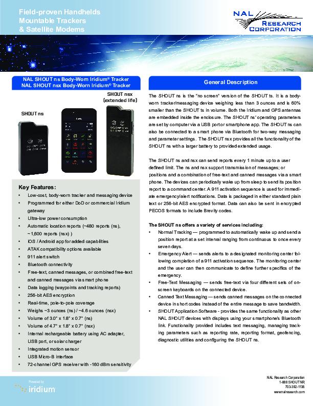 SHOUT-ns-nsx-Product-Sheet.pdf